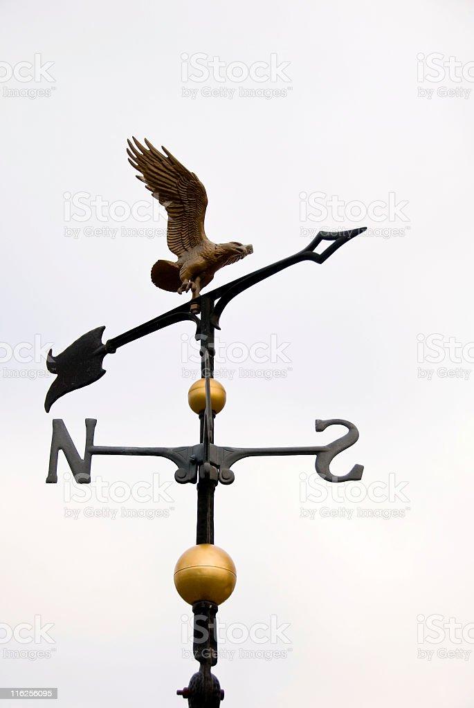 Eagle Weathervane royalty-free stock photo