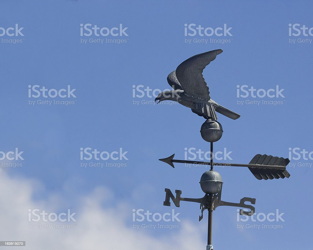 Eagle Windvane stock photo