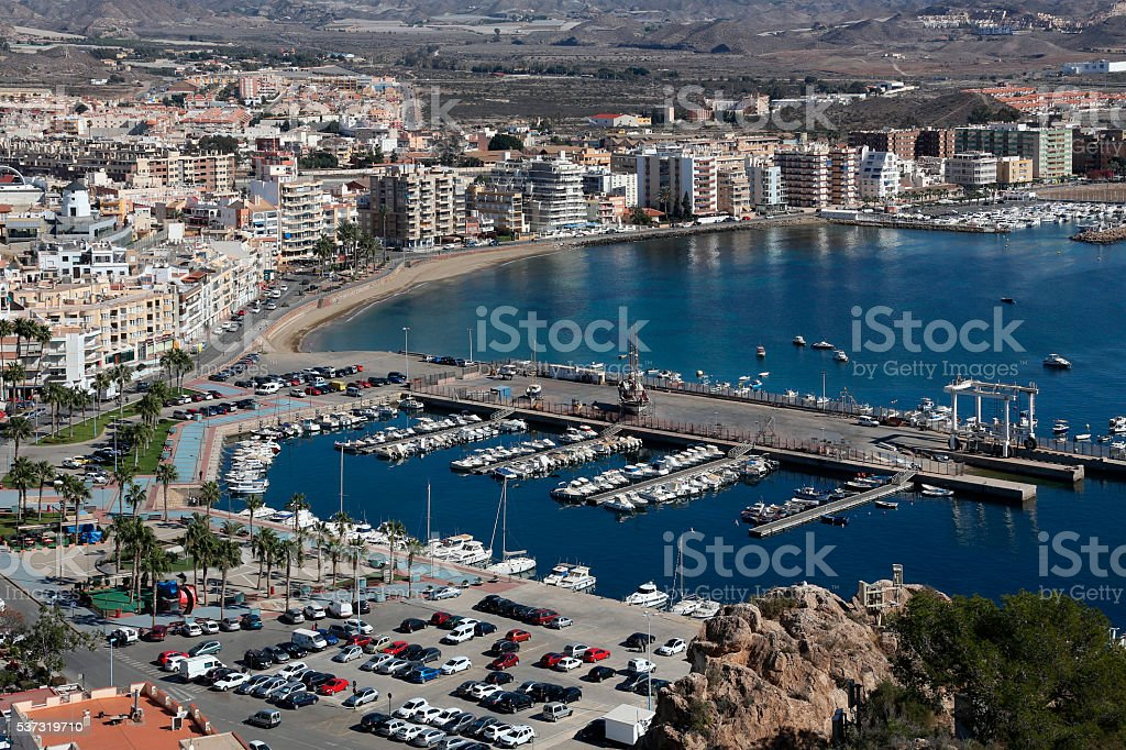 Aguilas - Costa Calida - Spain stock photo