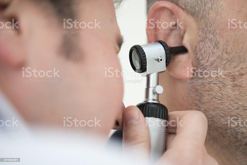 Ear Exam stock photo