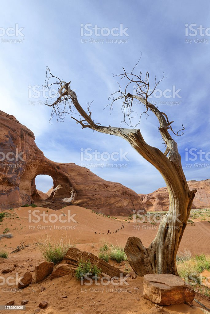 Ear of the Wind, Monument Valley stock photo