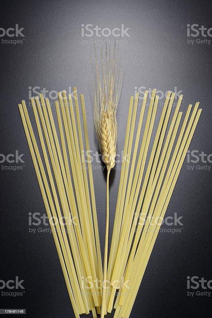 ear of wheat royalty-free stock photo
