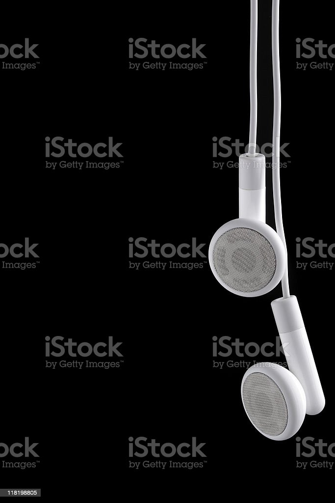 Ear phones royalty-free stock photo