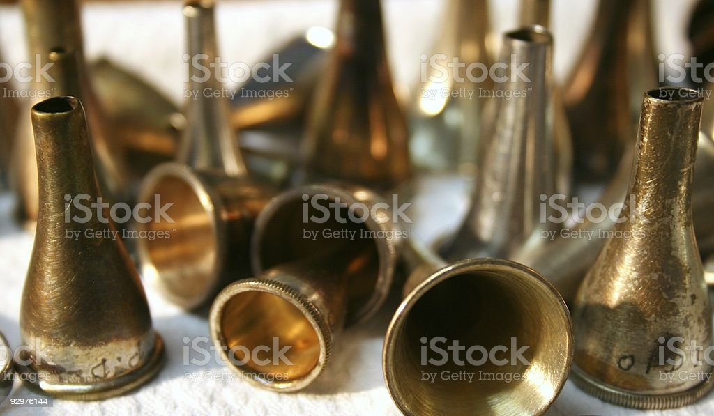 Ear pieces royalty-free stock photo
