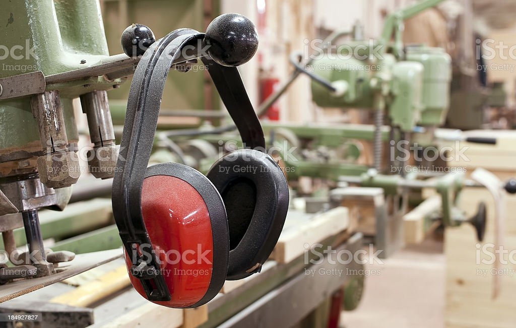 Ear protection royalty-free stock photo