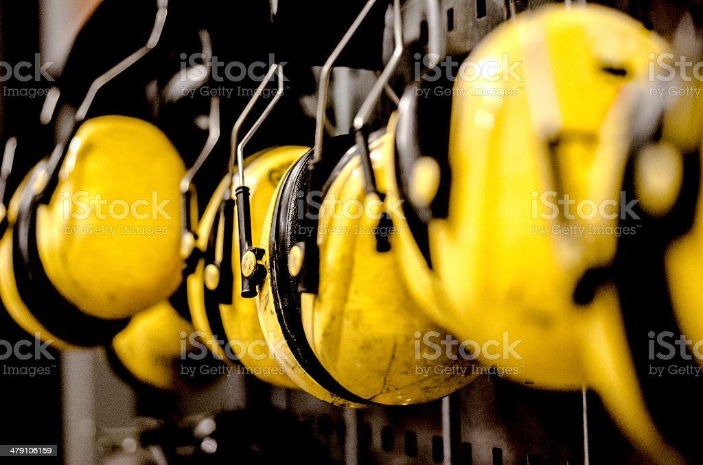 Ear Protectors stock photo