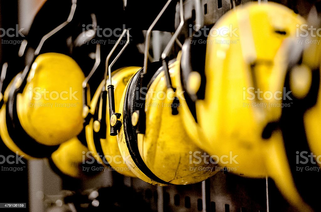 Ear Protectors stock photo