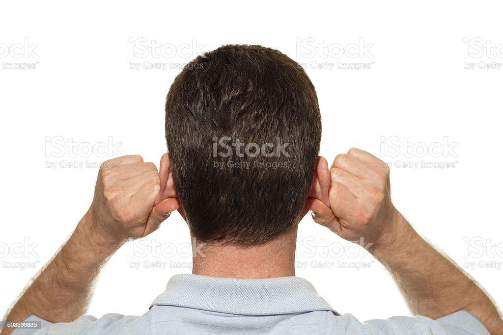 Ear Reflexology stock photo