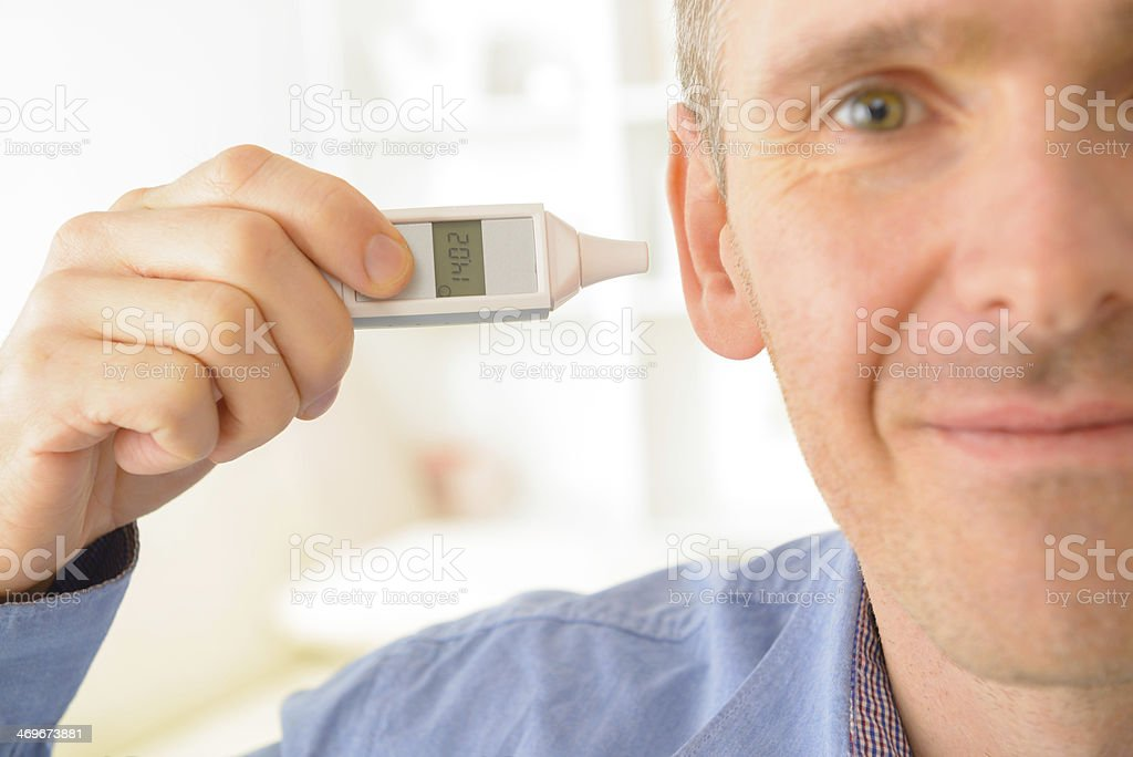 Ear Thermometer stock photo