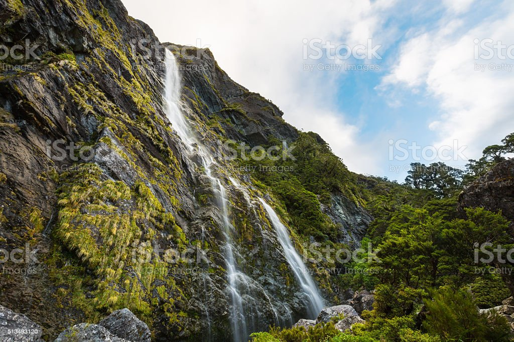 Earland Falls stock photo