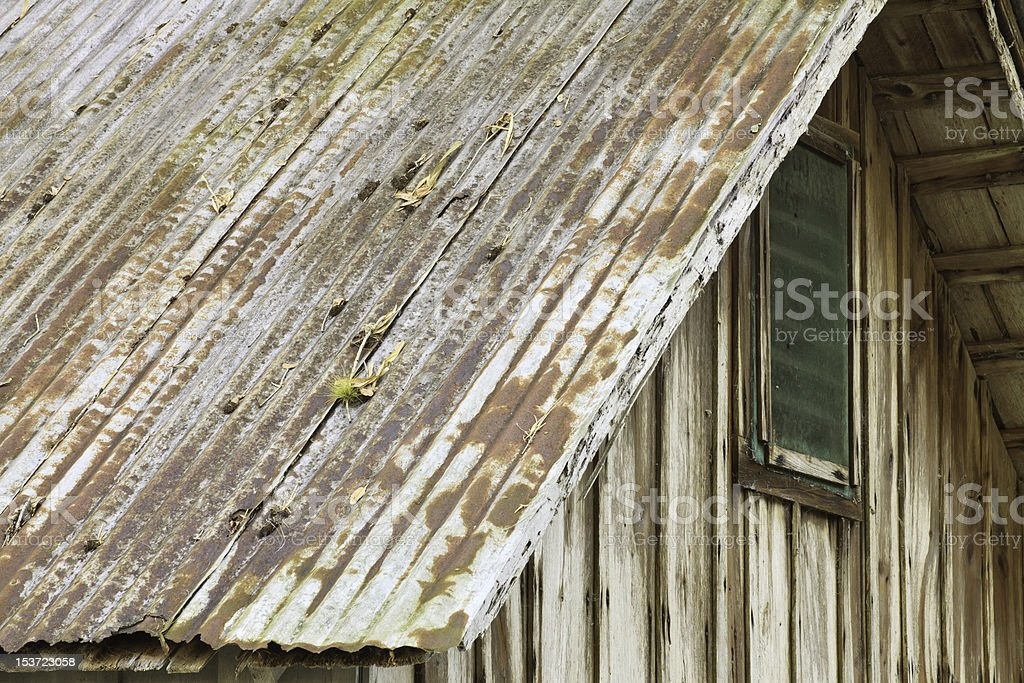 Early 1900's Pioneer Home royalty-free stock photo