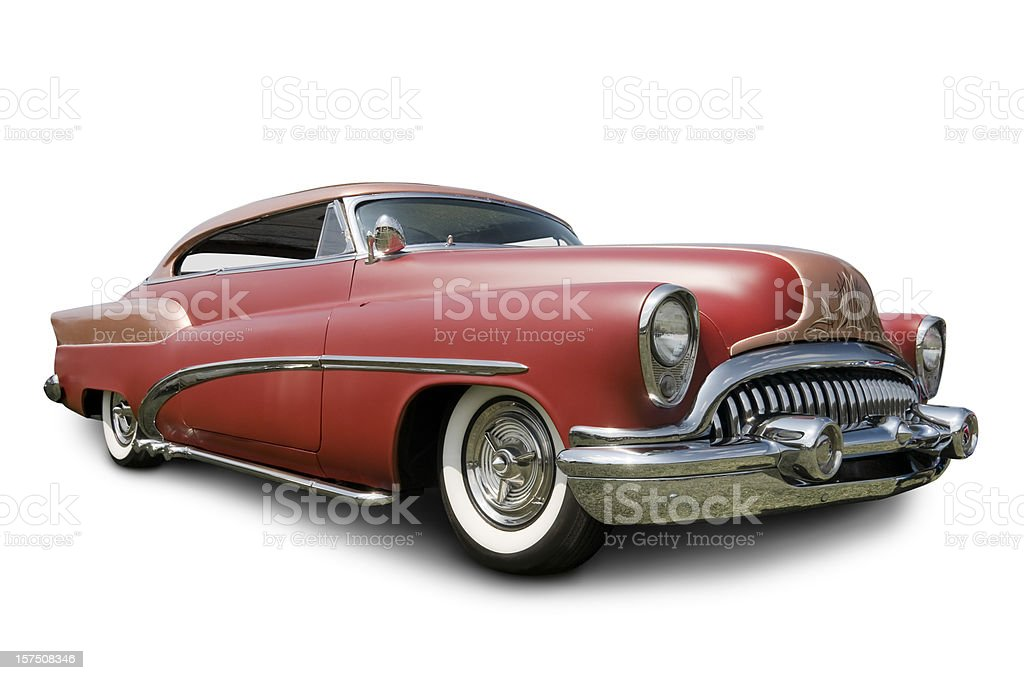 Early 1950s Buick Automobile royalty-free stock photo