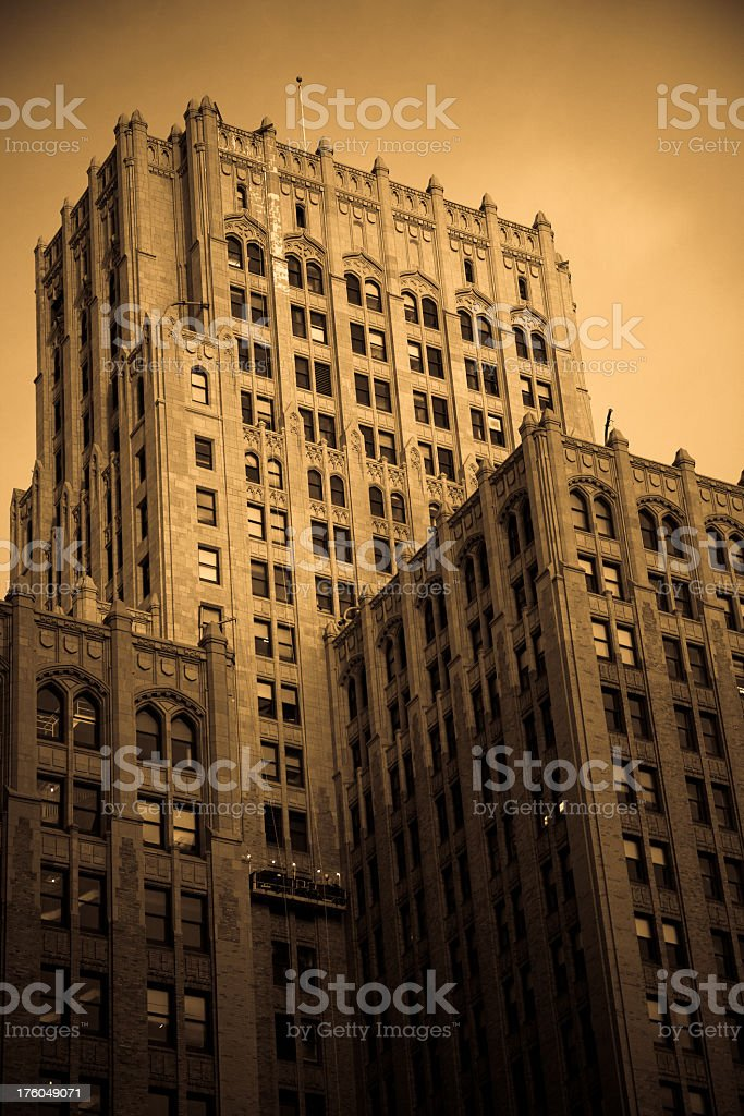 Early 20th Century-Era Office Building in San Francisco royalty-free stock photo