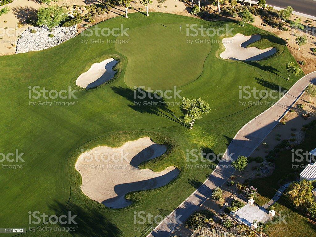 Early Bird Golf royalty-free stock photo
