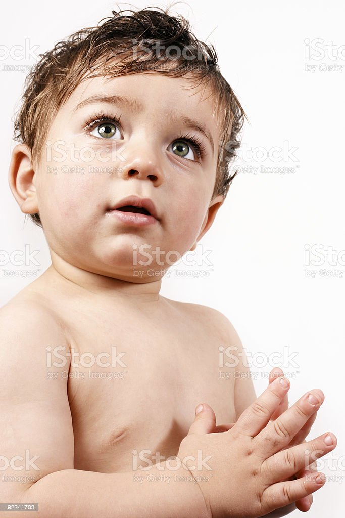 Early childhood learning royalty-free stock photo