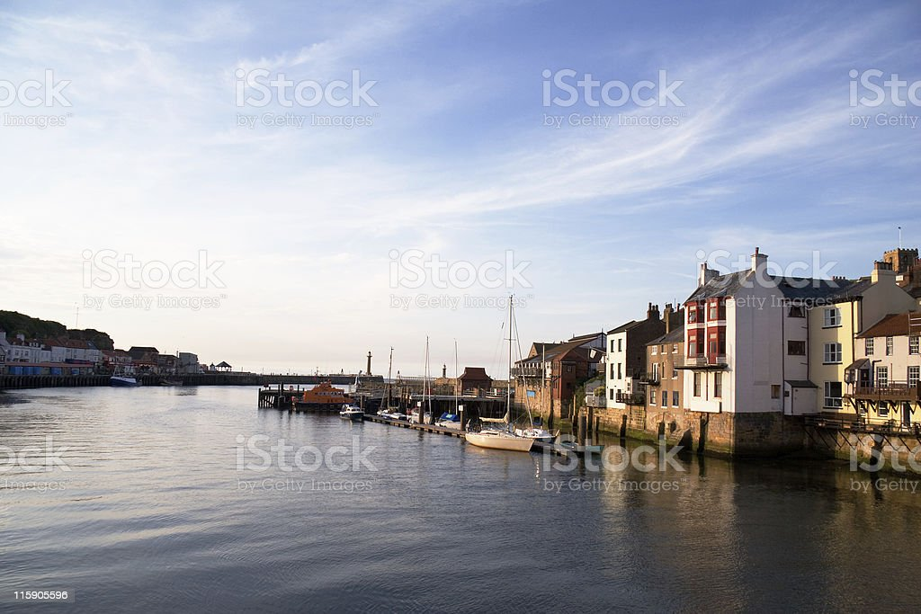 Early Evening, Whitby royalty-free stock photo