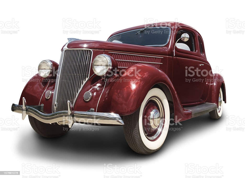 Early Ford Car royalty-free stock photo