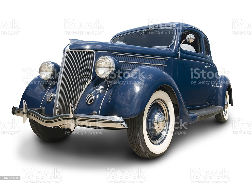 Early Ford Coupe stock photo