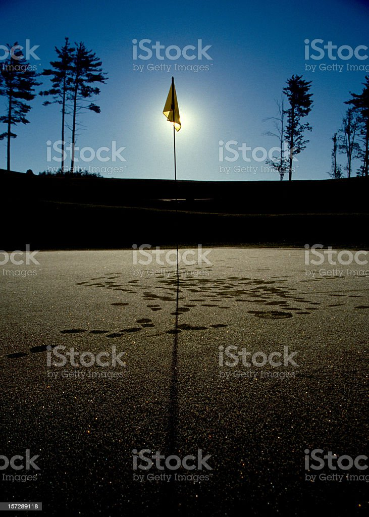 Early Golf royalty-free stock photo
