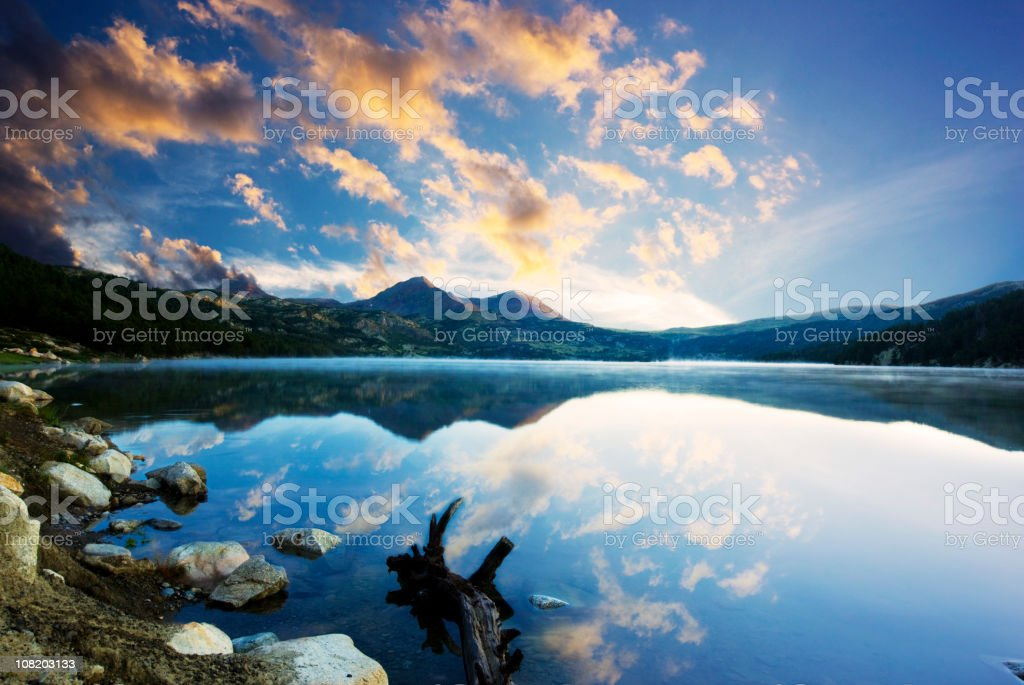 Early in the morning royalty-free stock photo