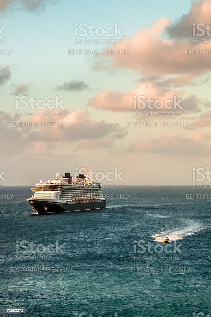 Early Morning Arrivals Vertical stock photo