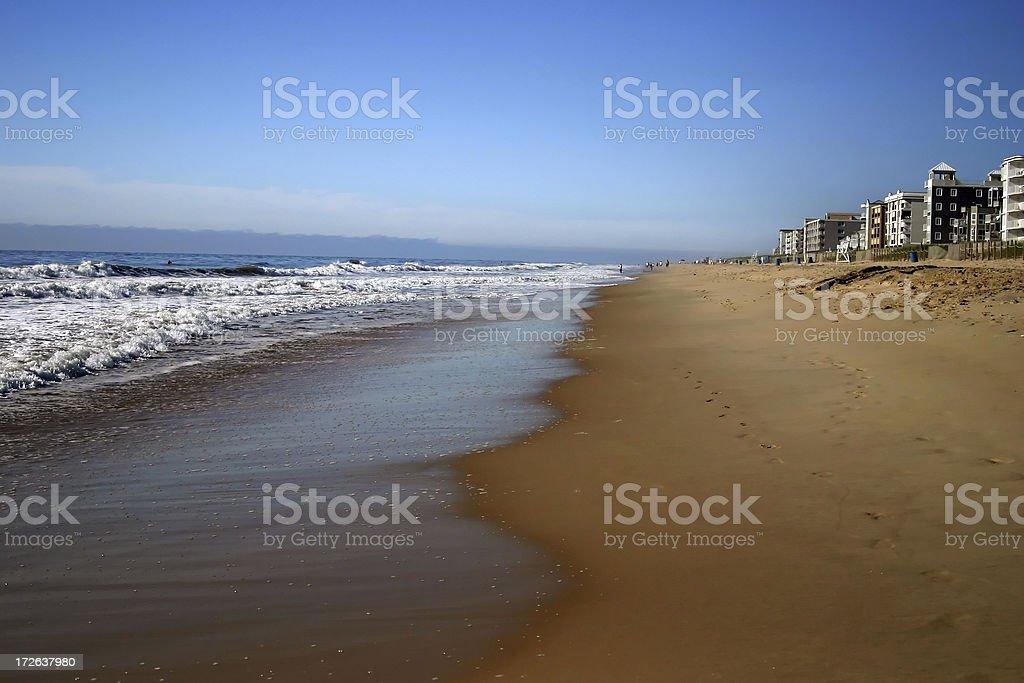Early Morning Beach royalty-free stock photo