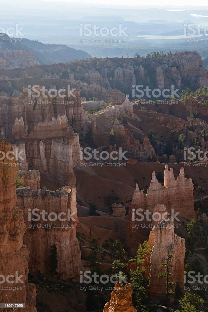 Early Morning, Bryce Canyon, Utah royalty-free stock photo
