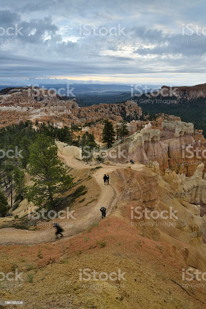 Early Morning, Bryce Canyon, Utah royalty-free stock photo