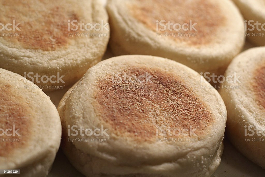 Early Morning English Muffins stock photo