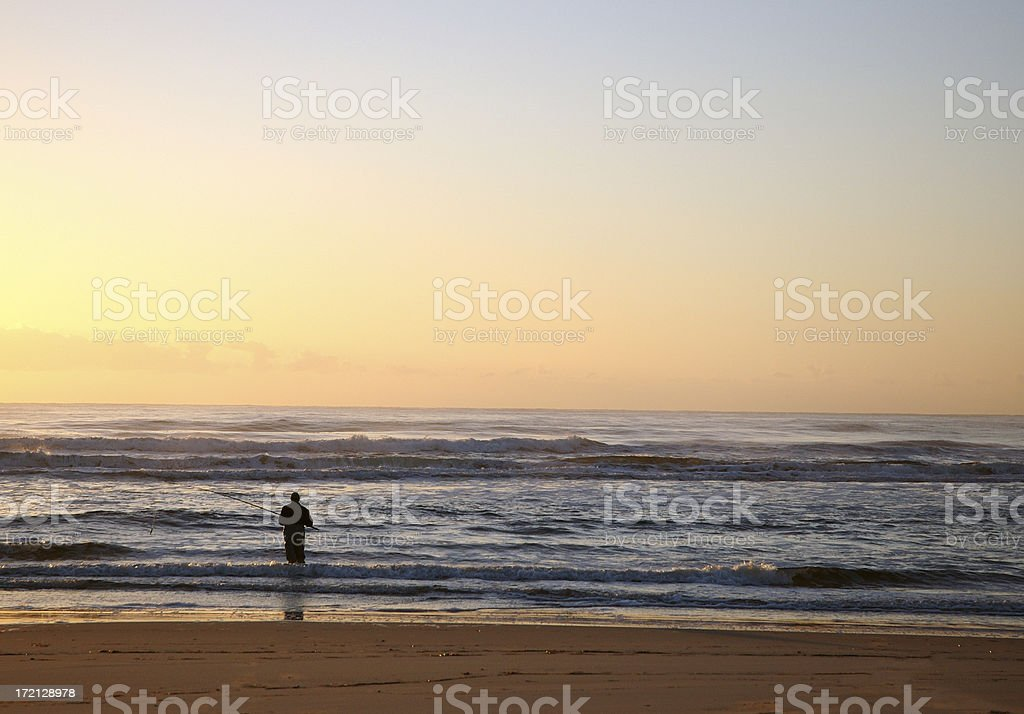 Early Morning Fishing royalty-free stock photo