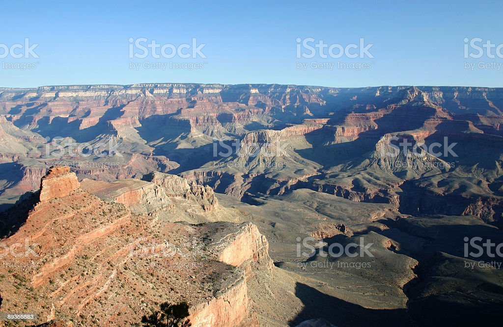 Early Morning Grand Canyon royalty-free stock photo