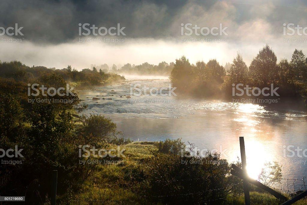 Early morning in Jotunheimen stock photo