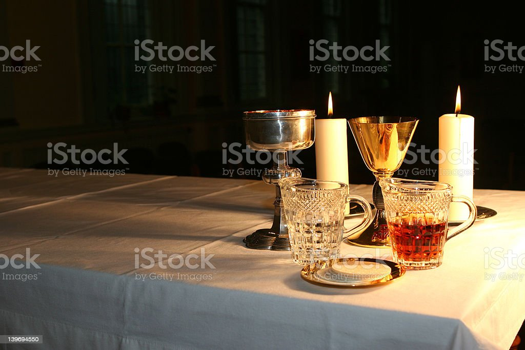 Early Morning in the Chapel 2 royalty-free stock photo