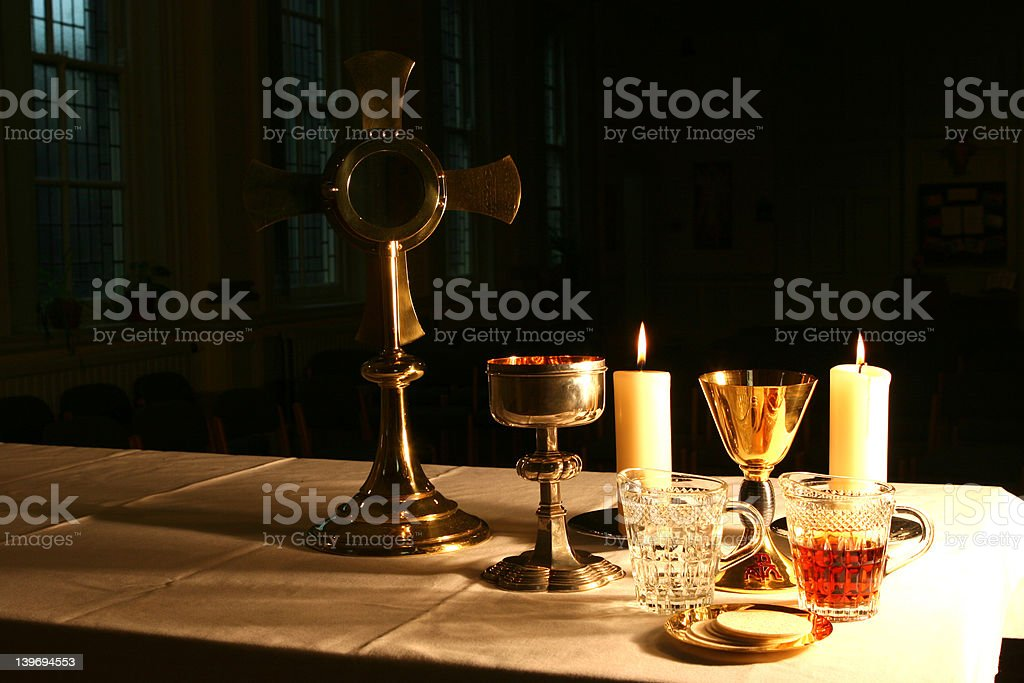 Early Morning in the Chapel 4 royalty-free stock photo