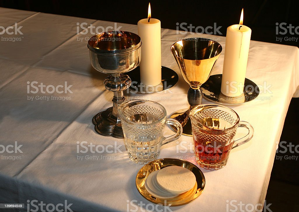 Early Morning in the Chapel royalty-free stock photo