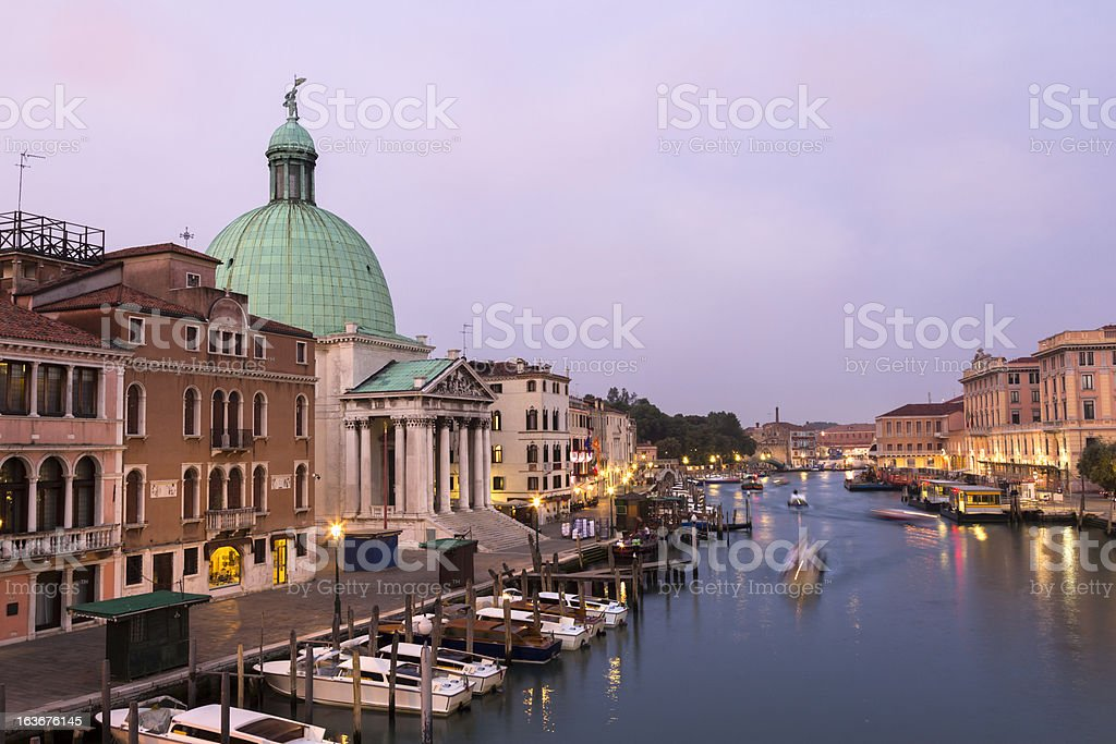Early morning in Venice royalty-free stock photo
