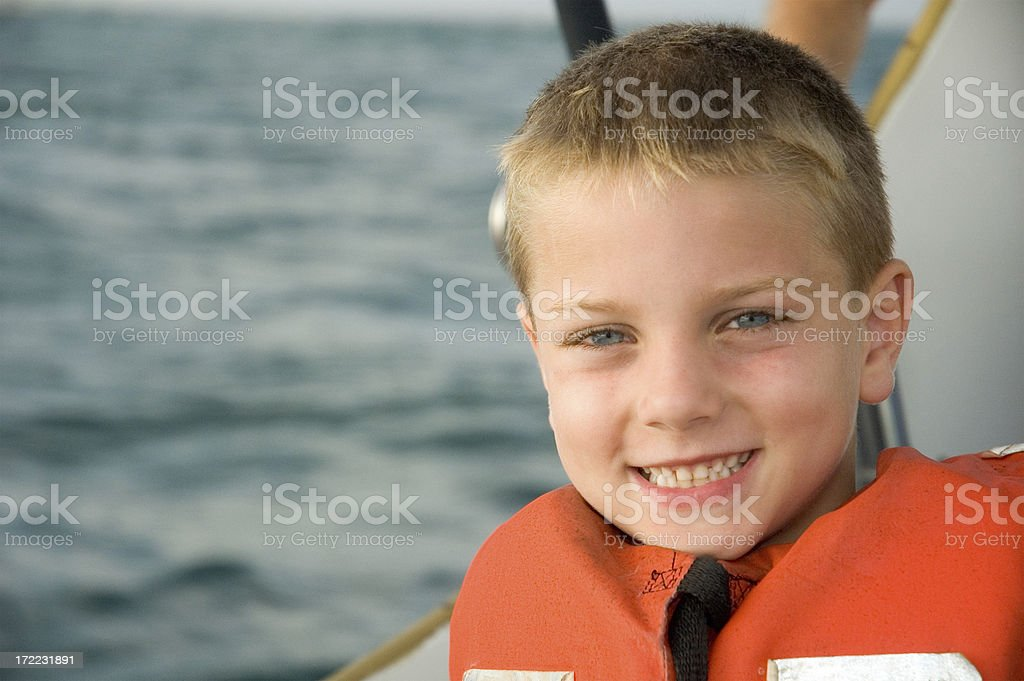 Early Morning Life Vest 2 royalty-free stock photo