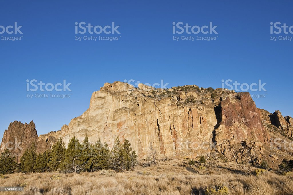 Early Morning Light on Smith Rock stock photo