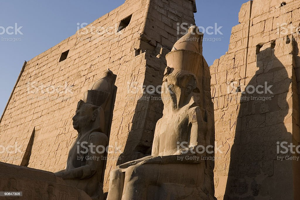 Early Morning, Luxor royalty-free stock photo