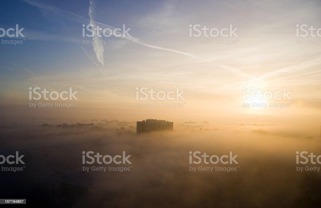 Early morning royalty-free stock photo