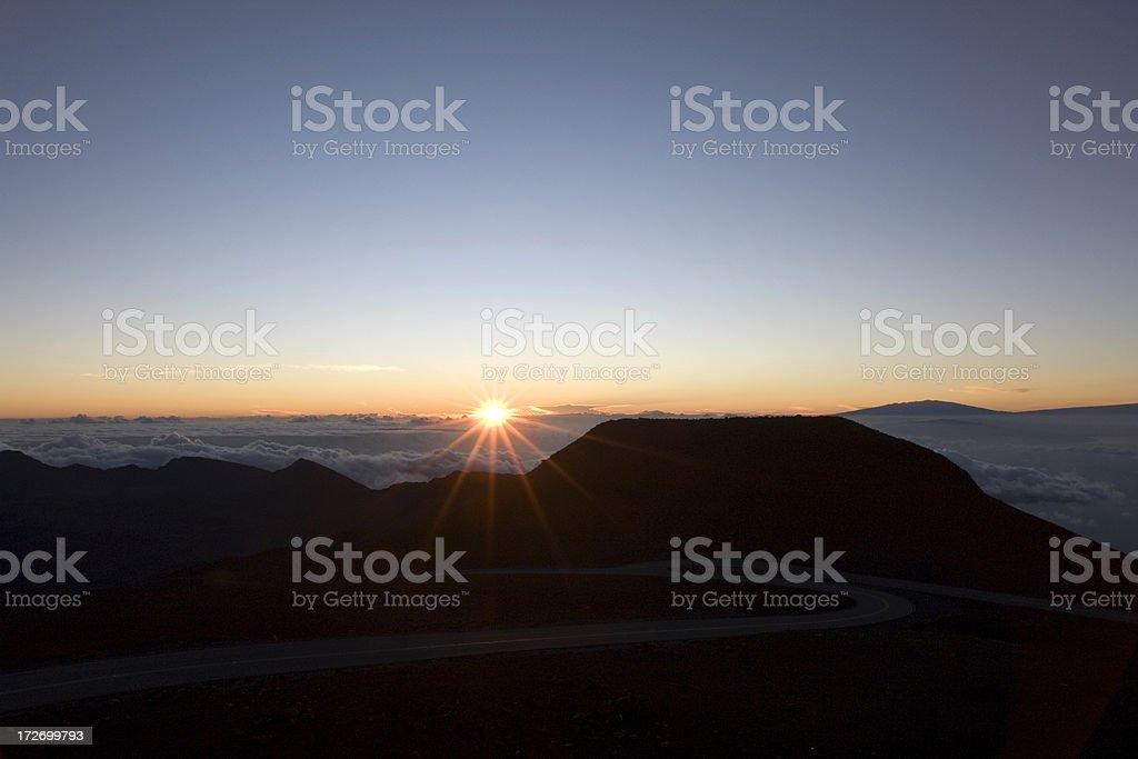 Early Morning rising royalty-free stock photo