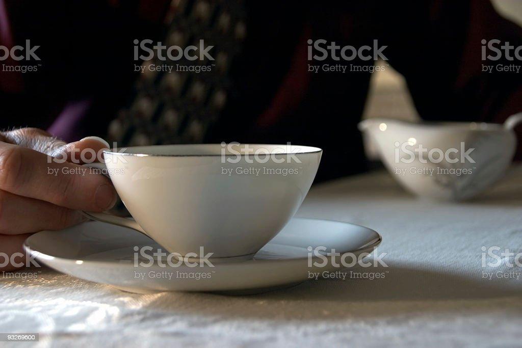 Early Morning Tea stock photo