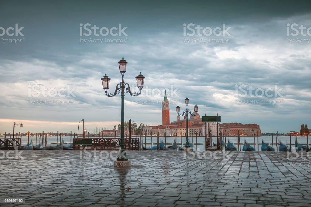 Early Morning Venice stock photo