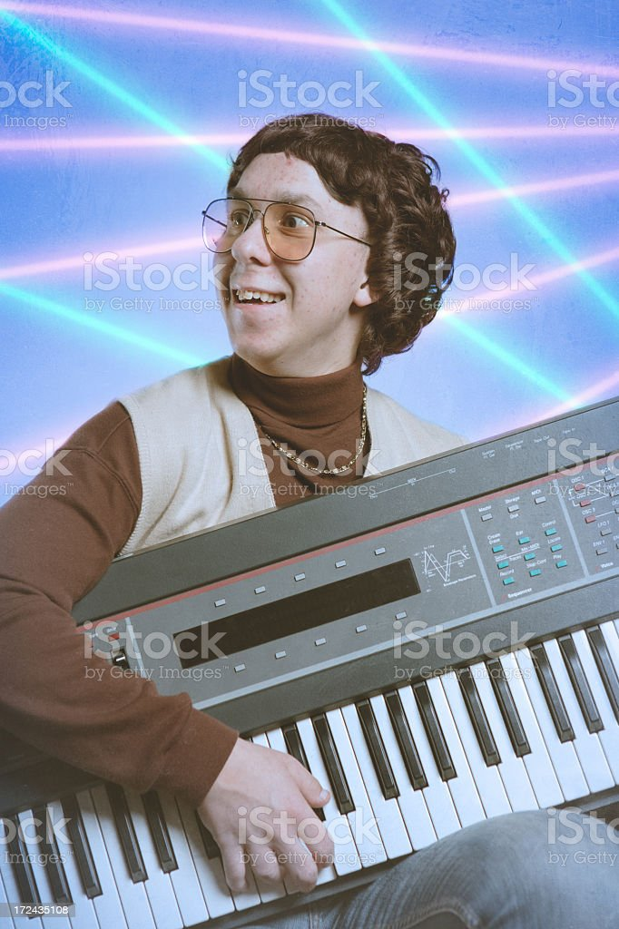 Early Nineties Glamour Shot royalty-free stock photo