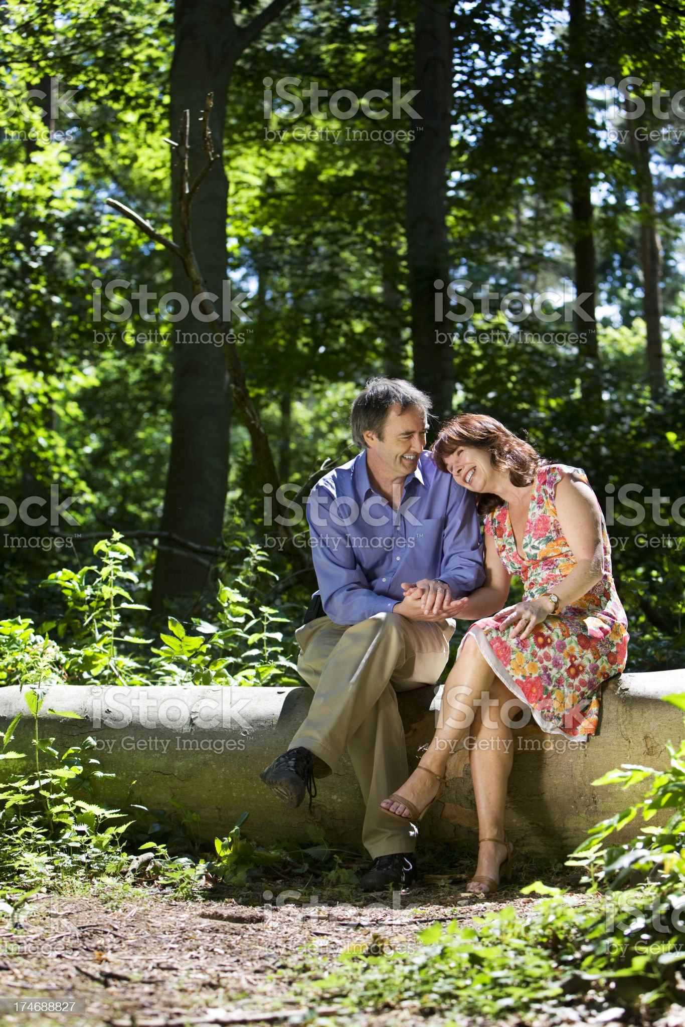 early retirement: life begins at 40 royalty-free stock photo