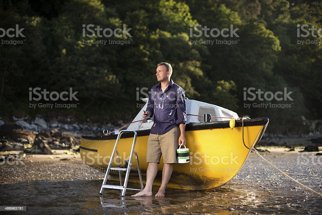 early retirement royalty-free stock photo