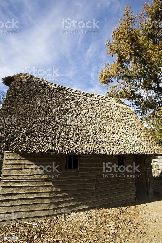 Early Settler's Home stock photo