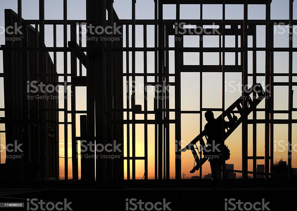 Early to rise stock photo