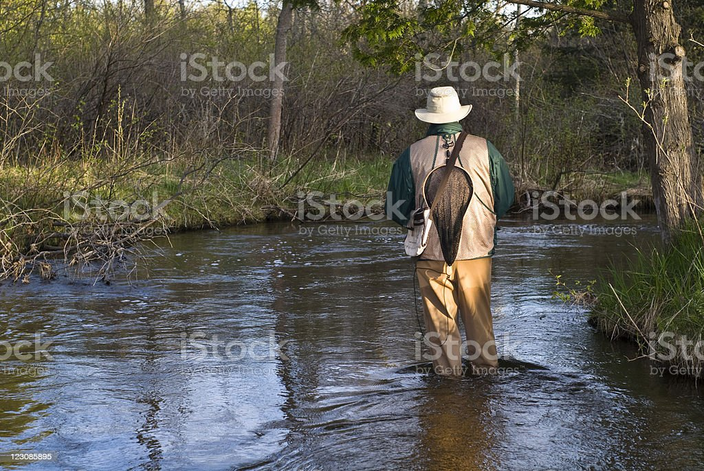Early Trout Season royalty-free stock photo