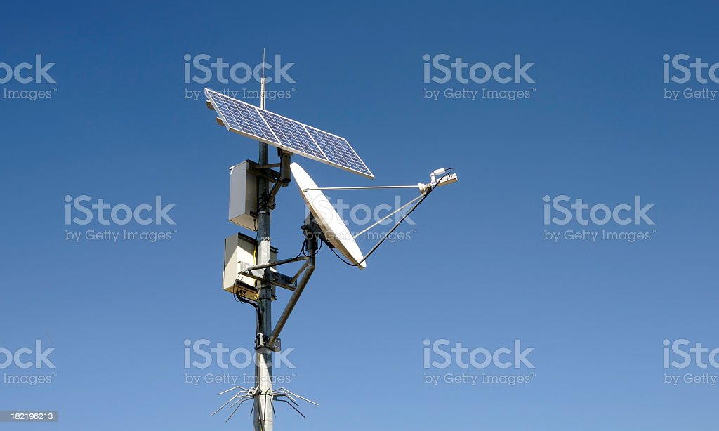Early Warning System stock photo